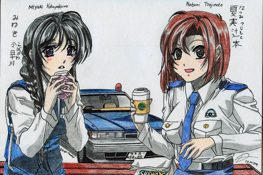 RQ: Miyuki Kobayakawa + Natsumi Tsujimoto by BlackLeatheredOokami