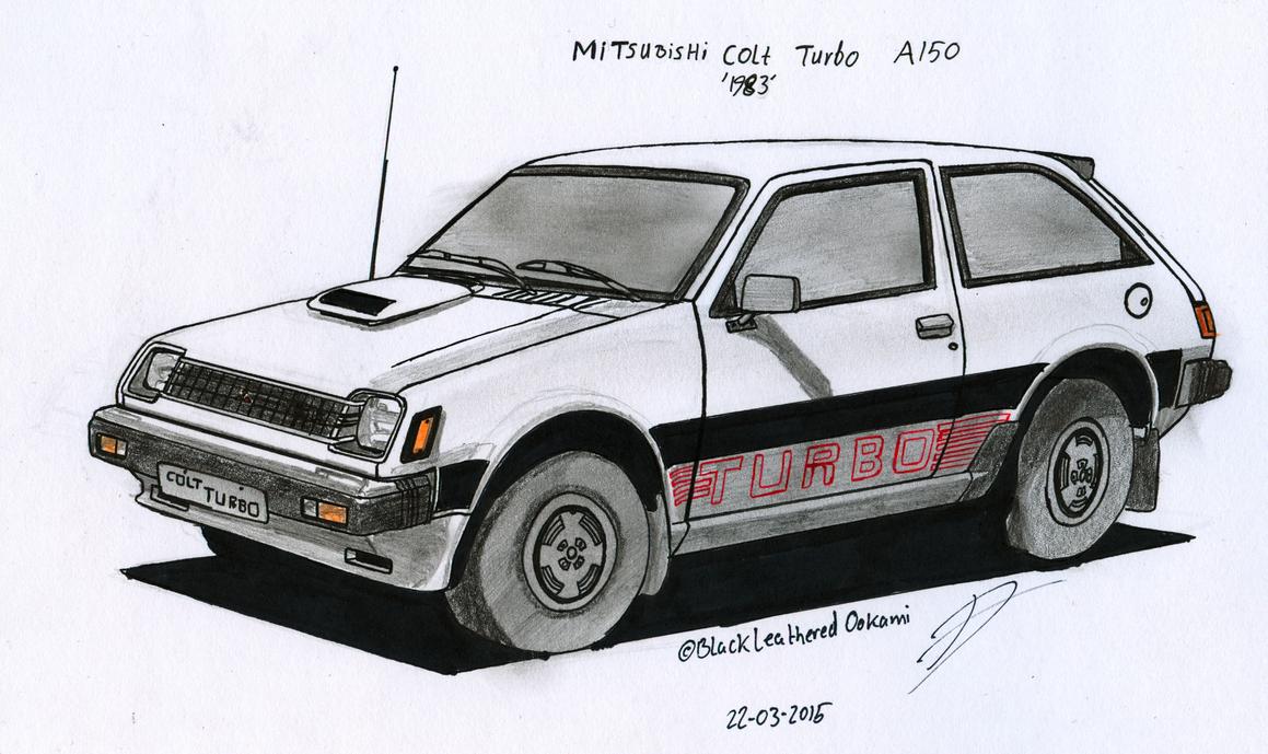 Mitsubishi Colt A150 Turbo by BlackLeatheredOokami