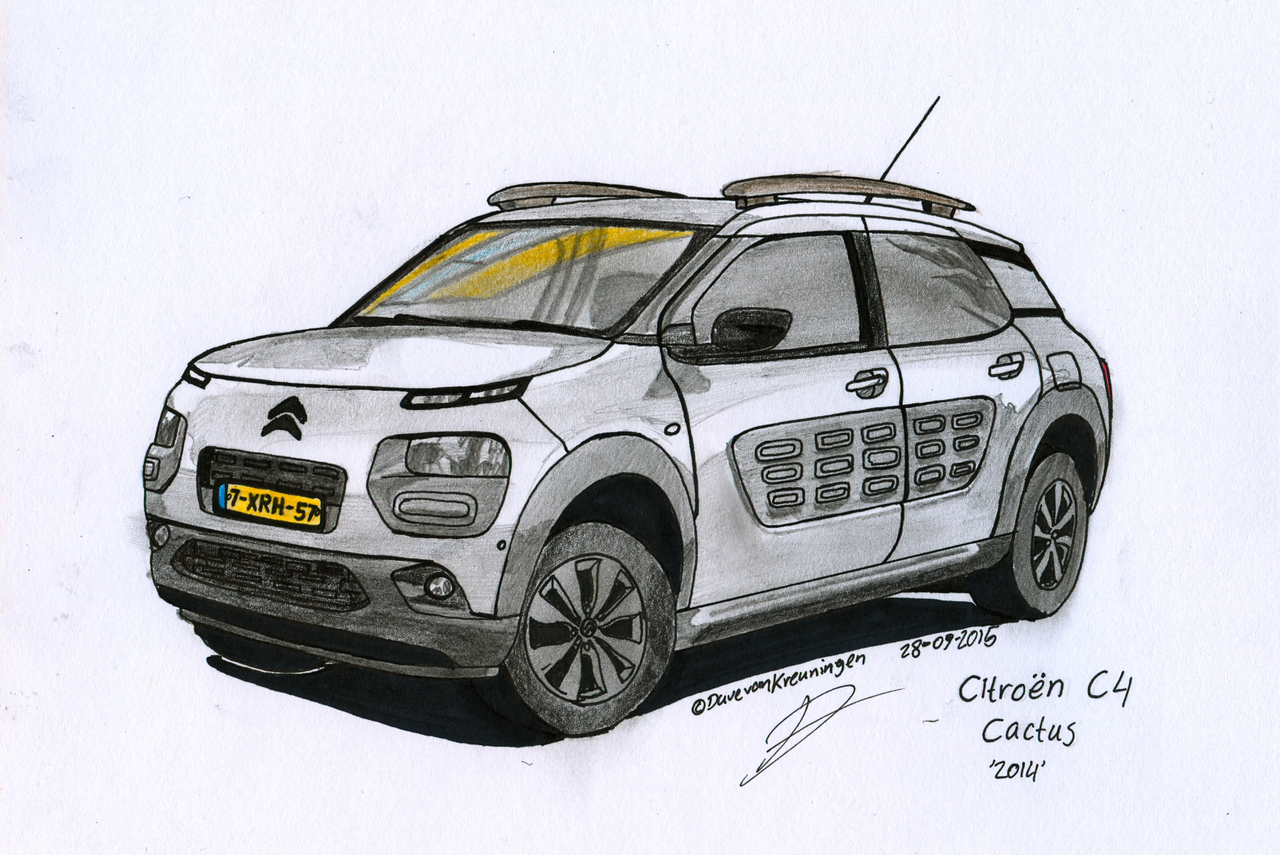 Commission: Citroen C4 Cactus by BlackLeatheredOokami on DeviantArt