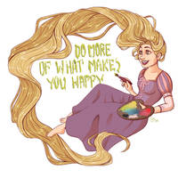 Do more of what makes you happy by VeesmineVee