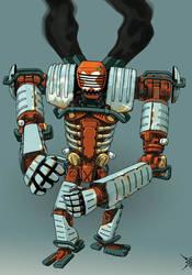 v8 robot INK by rkey2