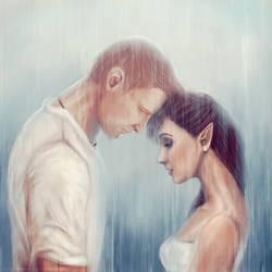 Under the rain by Smilika