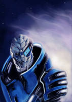 Garrus 'Archangel' Vakarian by Smilika