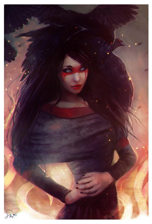 Raven by Smilika