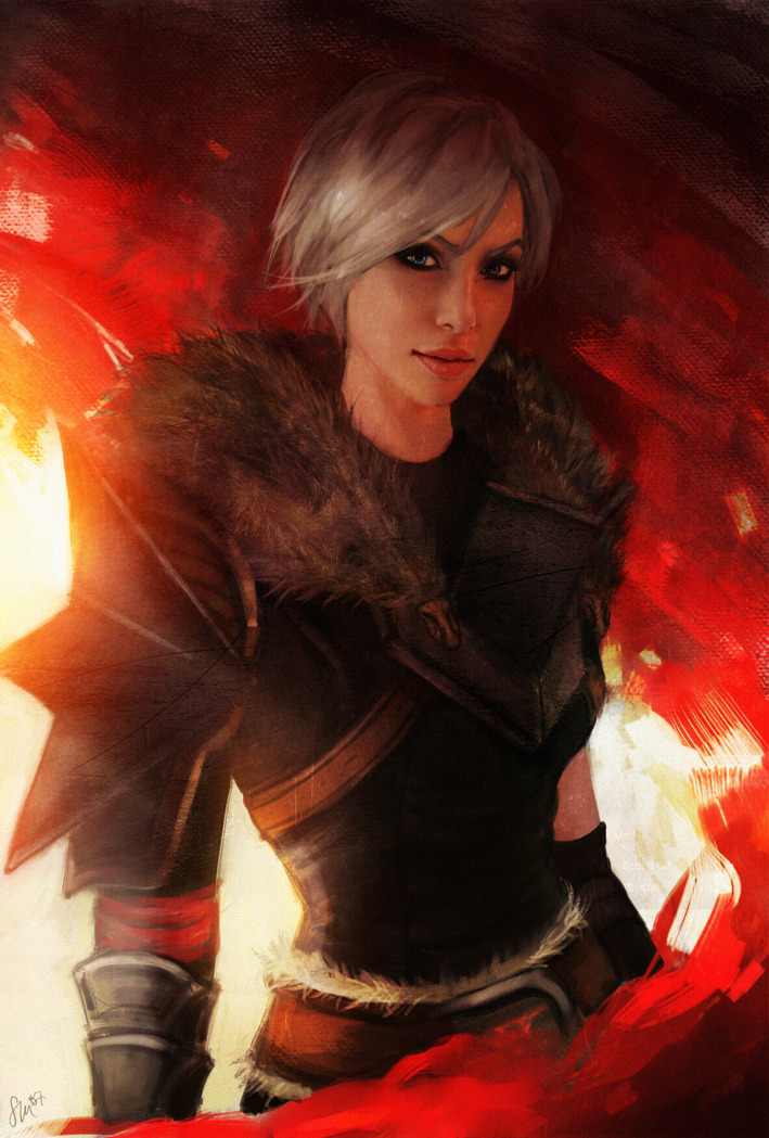 DA2: Ariana Hawke by Smilika
