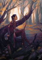 DAI: Huntress by Smilika