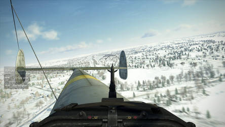 Bf-110: Course airfield. by Fixap