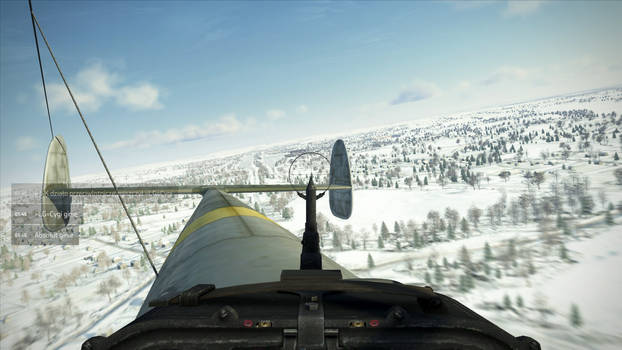 Bf-110: Course airfield.