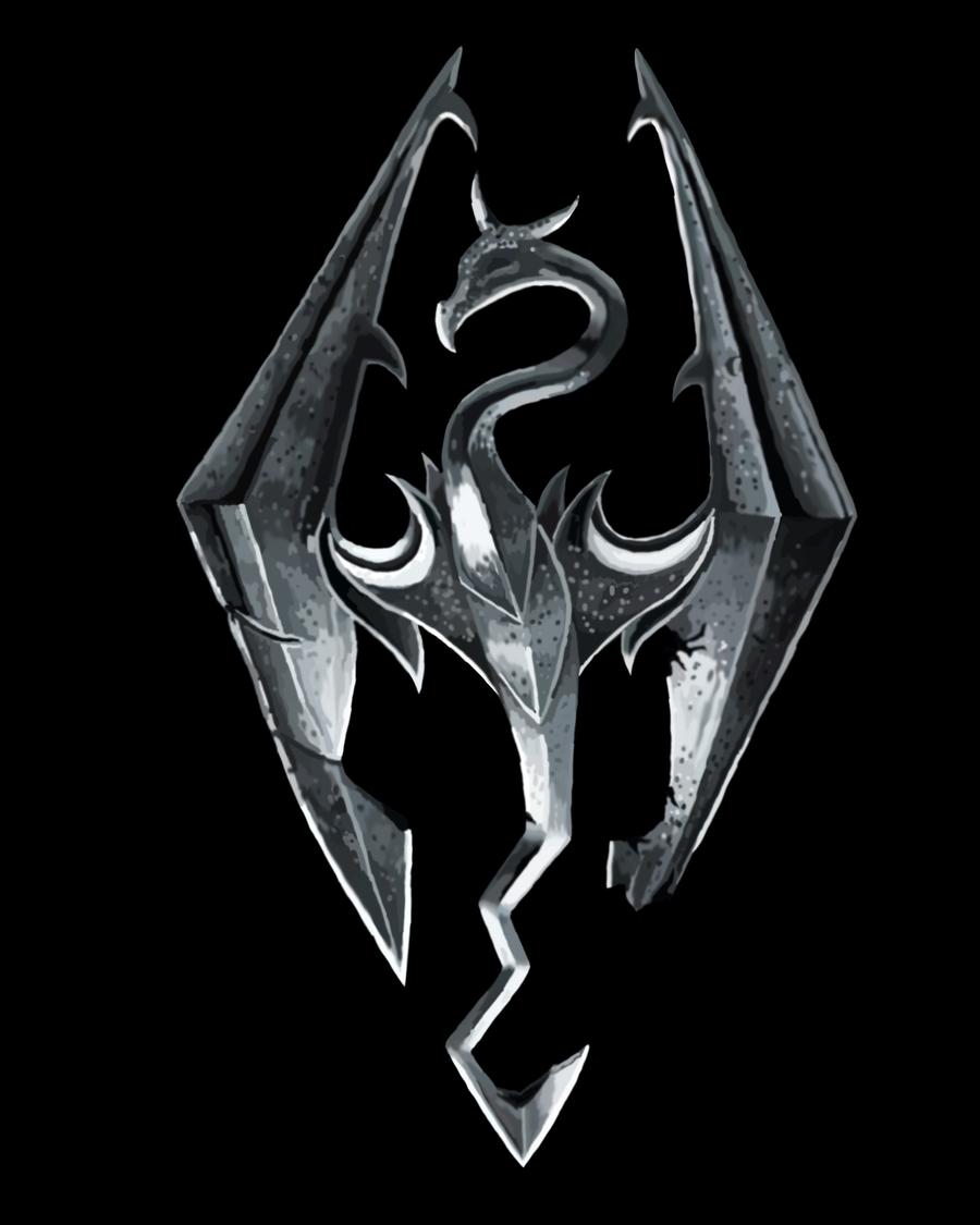 Skyrim Logo By Mmoto53 On DeviantArt