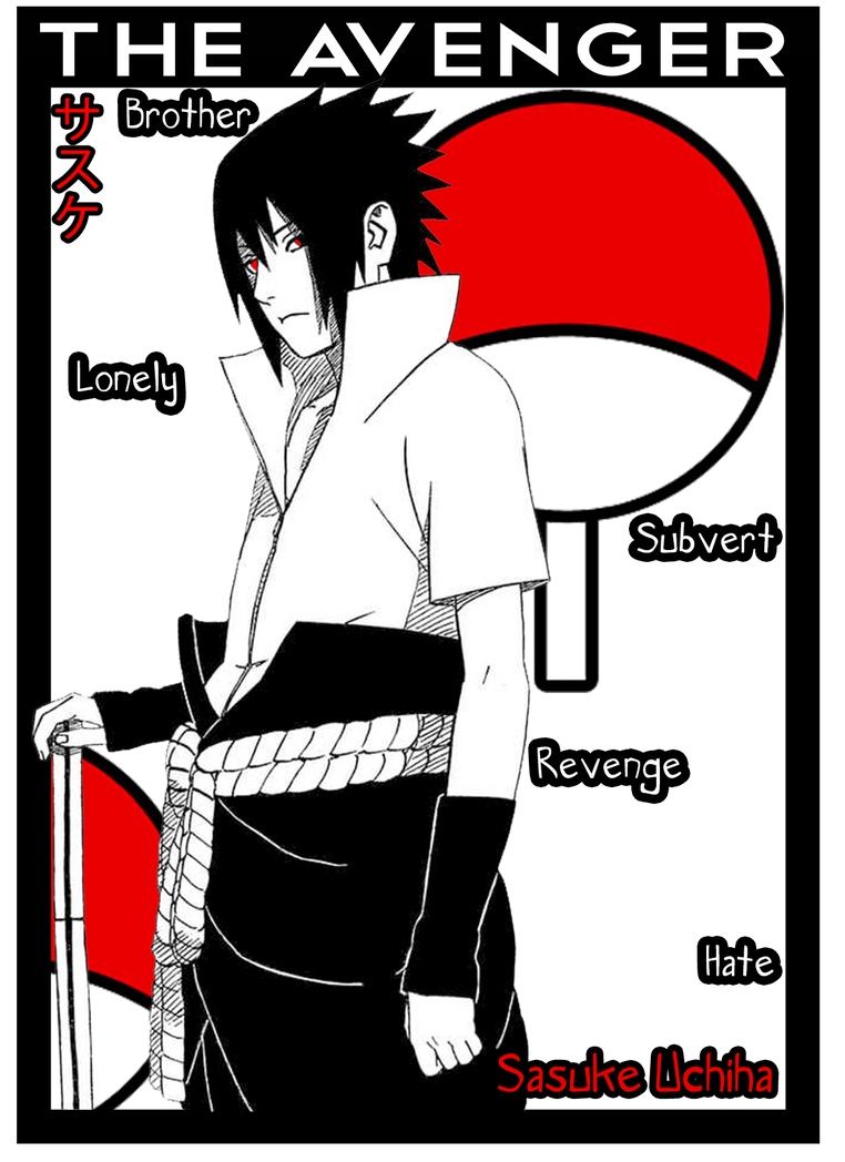 How Can You Love an Avenger? (Sasuke Uchiha love story)
