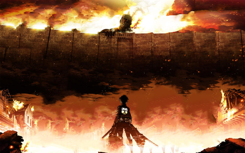 Attack On Titans Anime Wallpaper 1920x1200 By Abdu1995