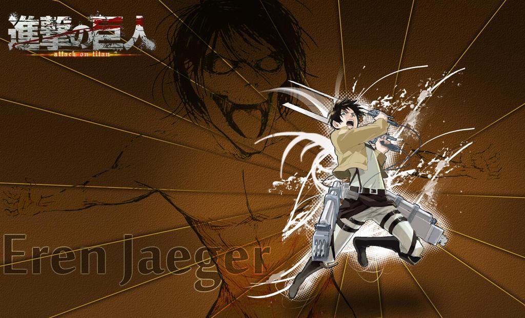 Attack On Titan Eren Jaeger Wallpaper By Abdu1995 On Deviantart