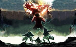 Attack on Titans - Season 2 (Anime HD Wallpaper) by Abdu1995