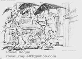 Bats by Pencil1