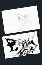 Batman Fan Art2 by Pencil1