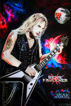 Richie Faulkner (Colored pencil drawing)