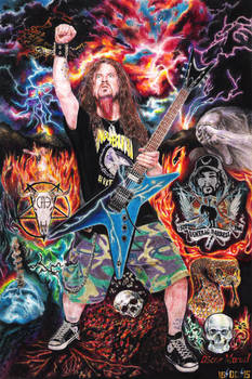 Dimebag Darrell (Colored Pencil Drawing)