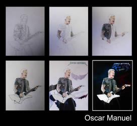 Step by Step (James Hetfield) by Oscar-Manuel