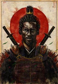 Portrait of YASUKE .