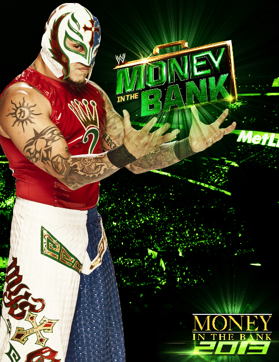 Money In The Bank 2013 Poster by xXMAGICxXxPOWERXx