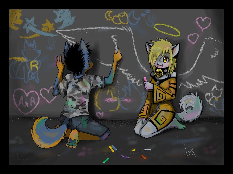 Chalk by VengefulSpirits