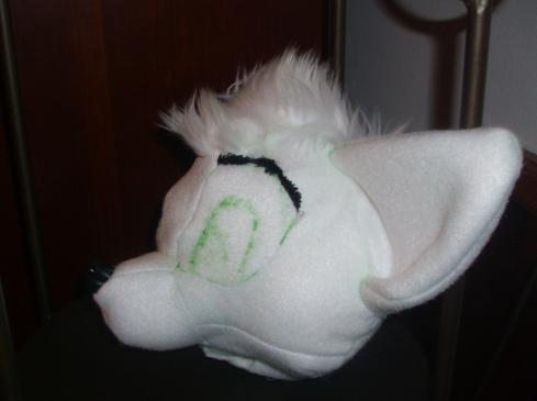 Plush Toon Fox head Prototype 1 by VengefulSpirits