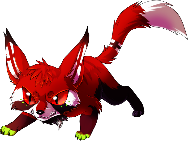 chibi commission for MoonshadowWolf by Skeleion