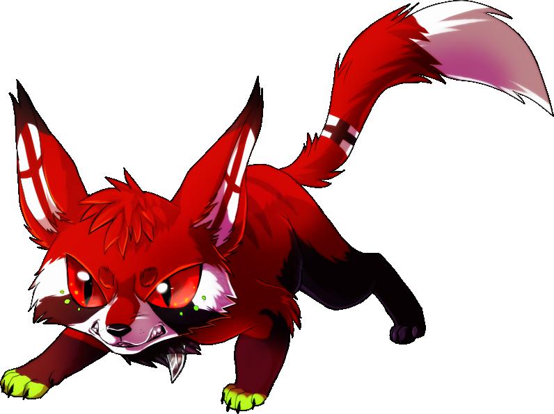chibi commission for MoonshadowWolf by VengefulSpirits