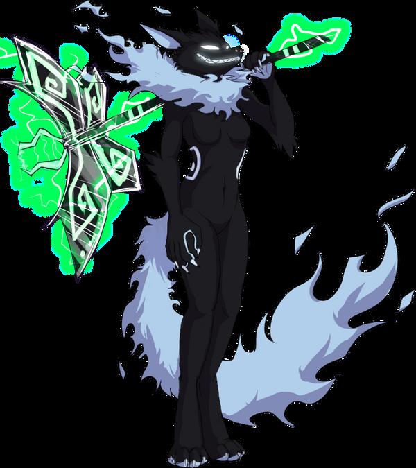 Venge anthro desgin by VengefulSpirits