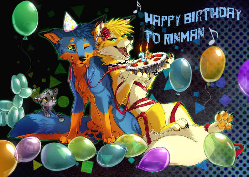 Happy Birthday RinMan! by VengefulSpirits