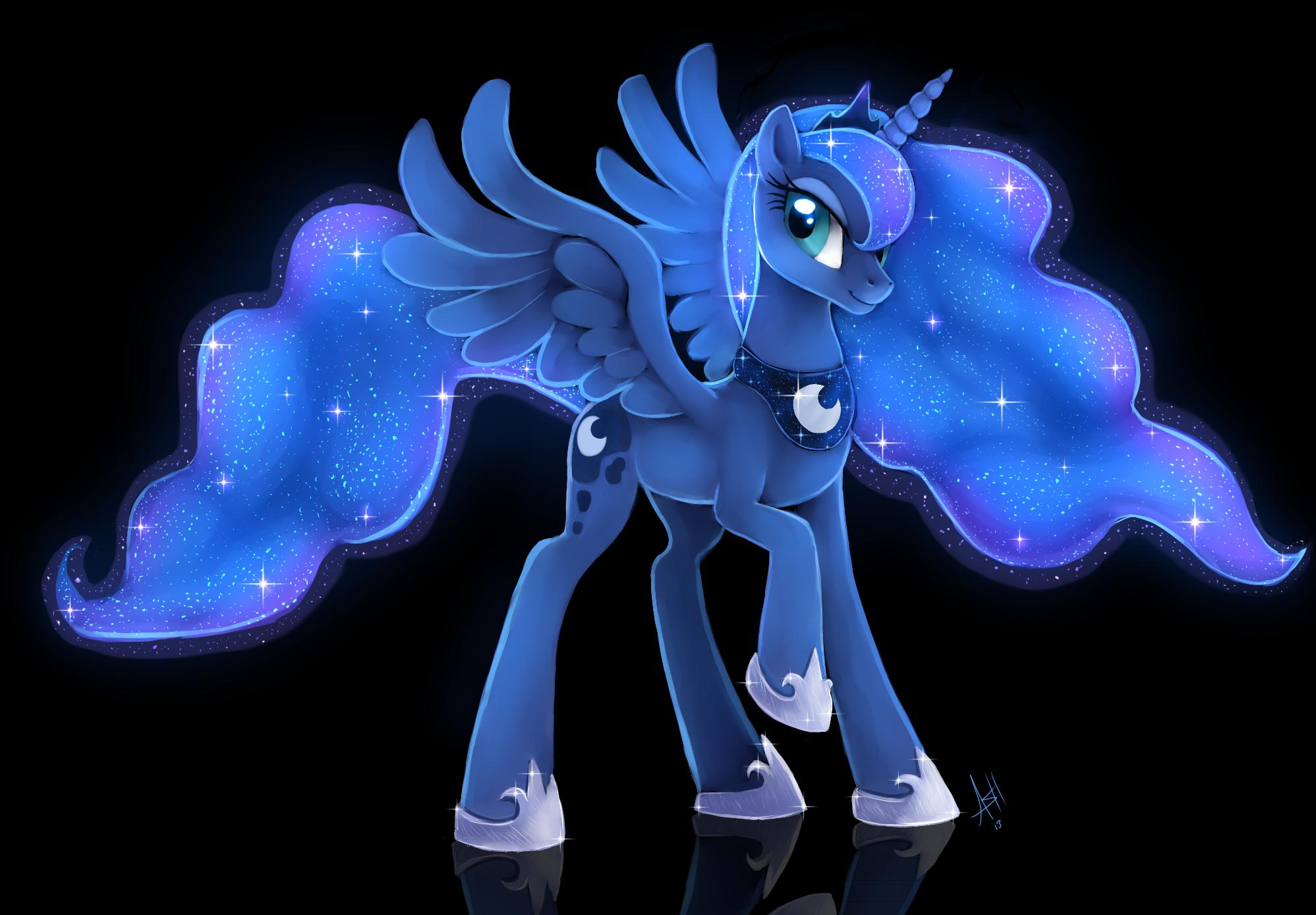 Luna by Skeleion