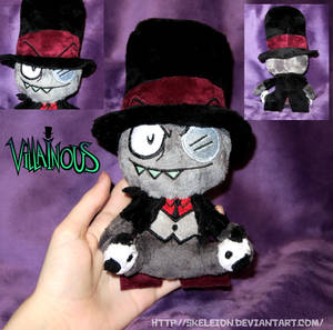 4c492808f15 Bootleg Black Hat Plush by Skeleion on DeviantArt