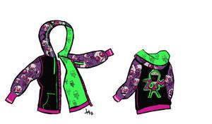 Invader Zim Dream hoodie by Skeleion