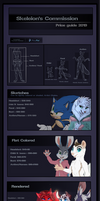 Commission Price Guide 2019 by Skeleion