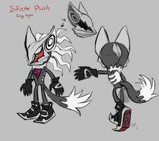Infinite Plush Concept Art by Skeleion