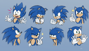 Sonic doodles 2