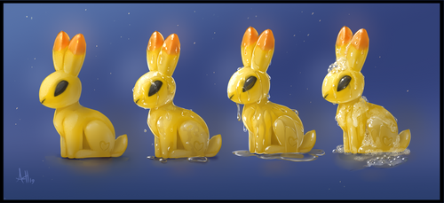 Ducky Bunny by Skeleion