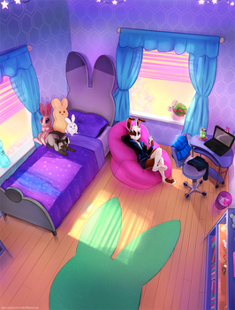 lily's Bedroom.