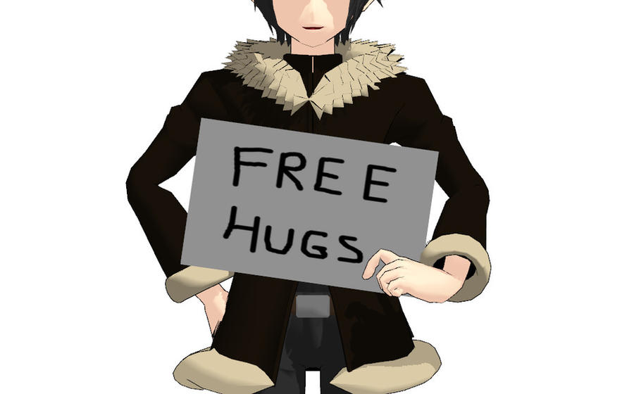 Topic du Flood - Page 8 Izaya_gives_free_hugs__3_by_wolffearprincess11-d4axl1u