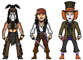 Johnny Depp micros by hurriseether