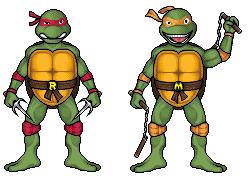 Ninja Turtles by hurriseether