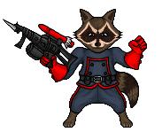 Raccoon by hurriseether