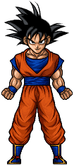 Goku by hurriseether