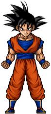 Goku by hurriseether