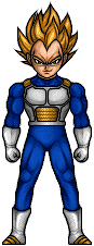 Vegeta by hurriseether