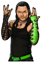 Jeff Hardy pixel art by hurriseether