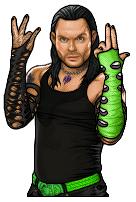 Jeff Hardy pixel art by hurriseether