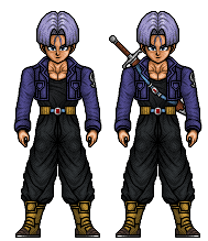 Future Trunks (Dragonball Z) by hurriseether