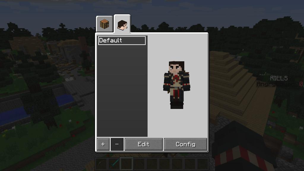 minecraft custom players mod
