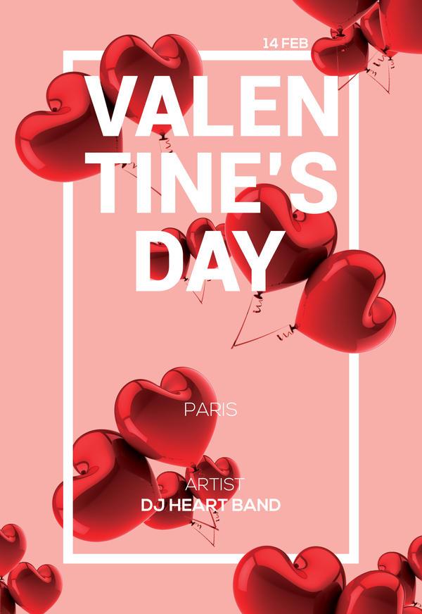 Valentines Day Poster by UniversArtt